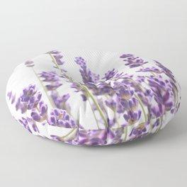 Purple Lavender #1 #decor #art #society6 Floor Pillow