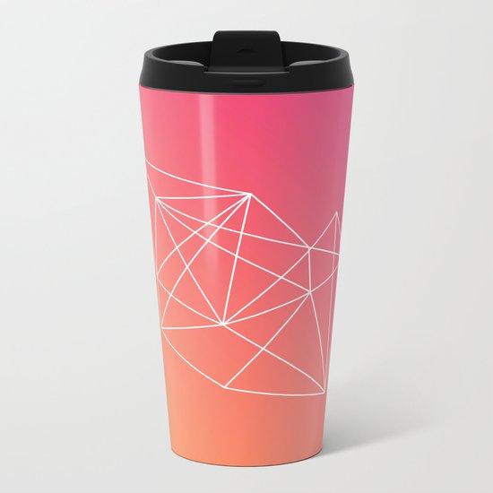 Geometry Metal Travel Mug