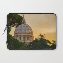 Sunset At The Vatican Laptop Sleeve