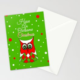 Have An Owlsome Christmas Stationery Cards