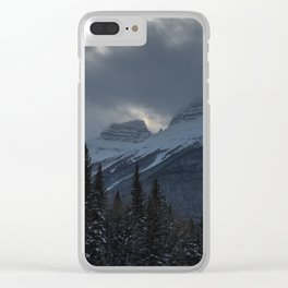 Rocky Mountains Two Clear iPhone Case