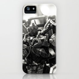 """Knights. Autobots. This cannot & will not be the end"" iPhone Case"