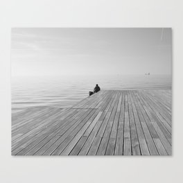 In the center Canvas Print