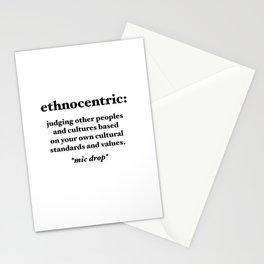 Ethnocentric Stationery Cards