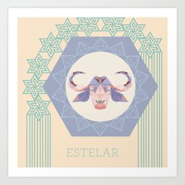 Baph Estelar Art Print