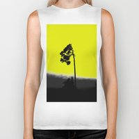 lonely Biker Tanks featuring lonely  by Nikos