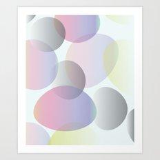 I'm forever blowing squarish bubbles Art Print