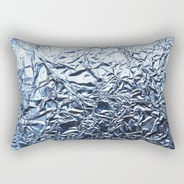 An abstract foil texture. Rectangular Pillow