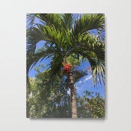 Bahama Palm2 Metal Print