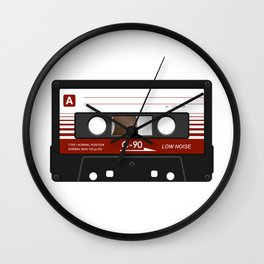 cassette K7 5 C90 Wall Clock