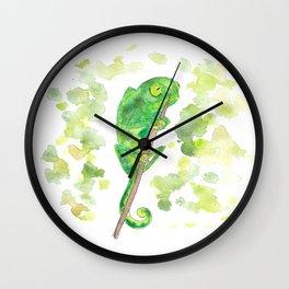 baby chameleon Wall Clock
