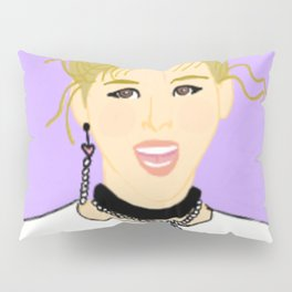Knock Knock! Jungyeon Purple Pillow Sham