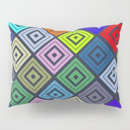 Modern Multicolor Patterns Pillow Sham