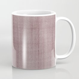 Pantone Red Pear Dry Brush Strokes Texture Pattern Coffee Mug