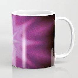Starburst Purple Pink Burgundy Coffee Mug