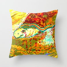 t u r d l e Throw Pillow