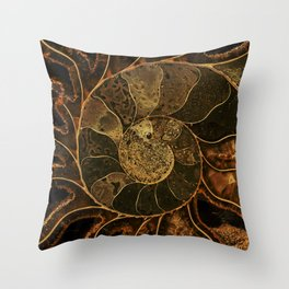 Earth treasures Throw Pillow