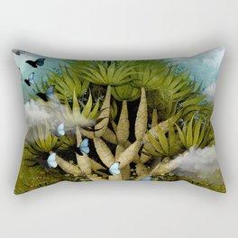 """""""The Bosch Spring"""" Rectangular Pillow"""