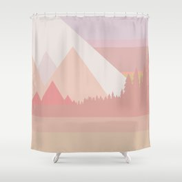 Long ride home Shower Curtain