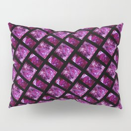 Purple and Pink Tiles Pillow Sham