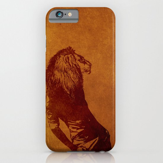 sexy lion iPhone & iPod Case
