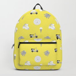 Greg Pattern Backpack