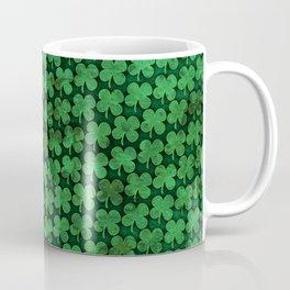 Four Leaf Pattern Coffee Mug