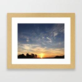 Angular Momentum Framed Art Print