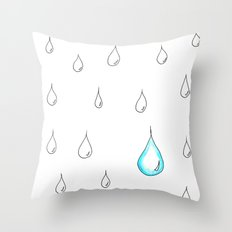 Emphasis by Contrast Throw Pillow