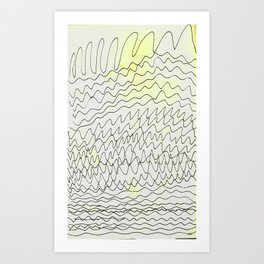 blop Art Print