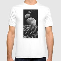 spiritualized Mens Fitted Tee LARGE White
