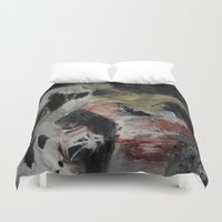 imagerybydianna Duvet Covers featuring ritual; carousel thoughts by Imagery by dianna