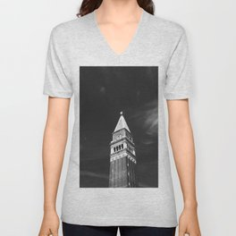 St Mark's Campanile Unisex V-Neck