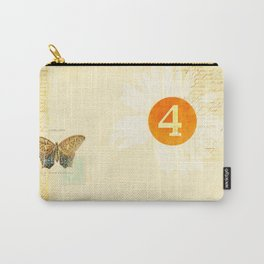4 oclock butterfly  Carry-All Pouch