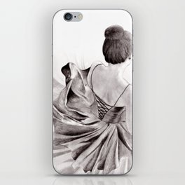 You Know That Feeling When You Wear A Twirly Dress? iPhone Skin
