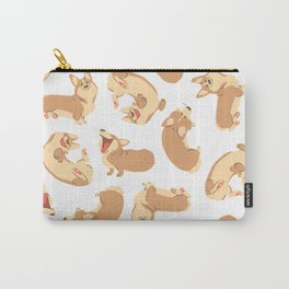 Corgi party Carry-All Pouch