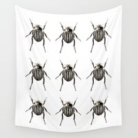 insect Wall Tapestries featuring INSECT №3 by Reel Feel