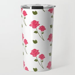 Rose Be Merry Travel Mug