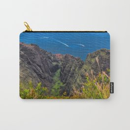 Na Pali Coast Awaawapuhi Valley Carry-All Pouch