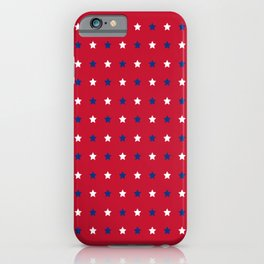 Patriotic Pattern | United States Of America USA iPhone Case