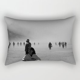 Disappear Into the Fog Rectangular Pillow