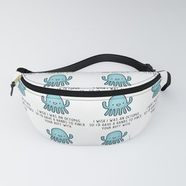 Octopus Love Fanny Pack