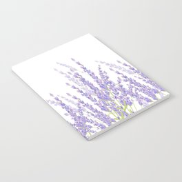 Lavender in the Field Notebook