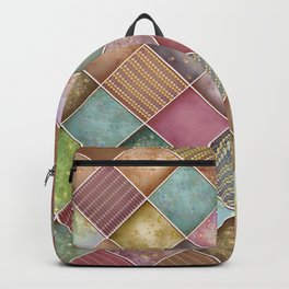 Diamond Shape Christmas Pattern 2 Backpack