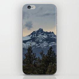 Good Night Mountain iPhone Skin