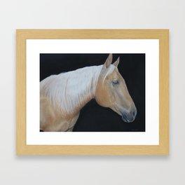 Palomino Horse Framed Art Print