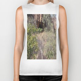 Cave in the Nature Biker Tank