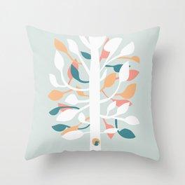Prosperi - tree Throw Pillow