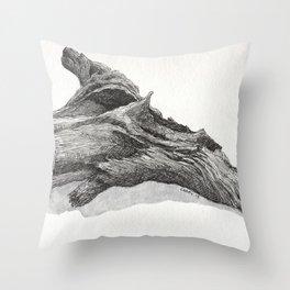 Fallen Tree Throw Pillow
