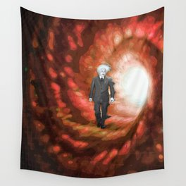 Everything Is Relative Wall Tapestry